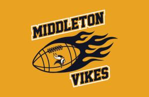 Middleton Vikes Button